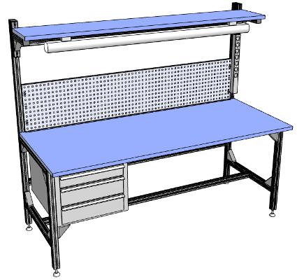 стол радиомонтажный высокой жёсткости